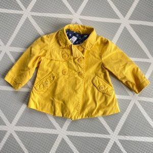 Yellow Carter's Spring Jacket 2T